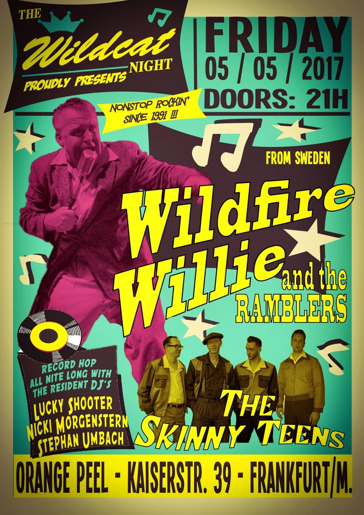 Wildfire Willie and the Ramblers + Skinny-Teens