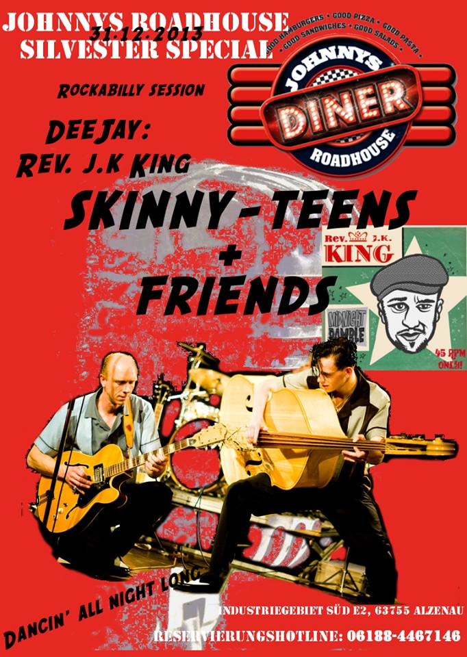 Skinny-Teens im Johnnys Roadhouse Diner