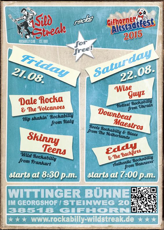 Skinny-Teens in Gifhorn 21.08.2015
