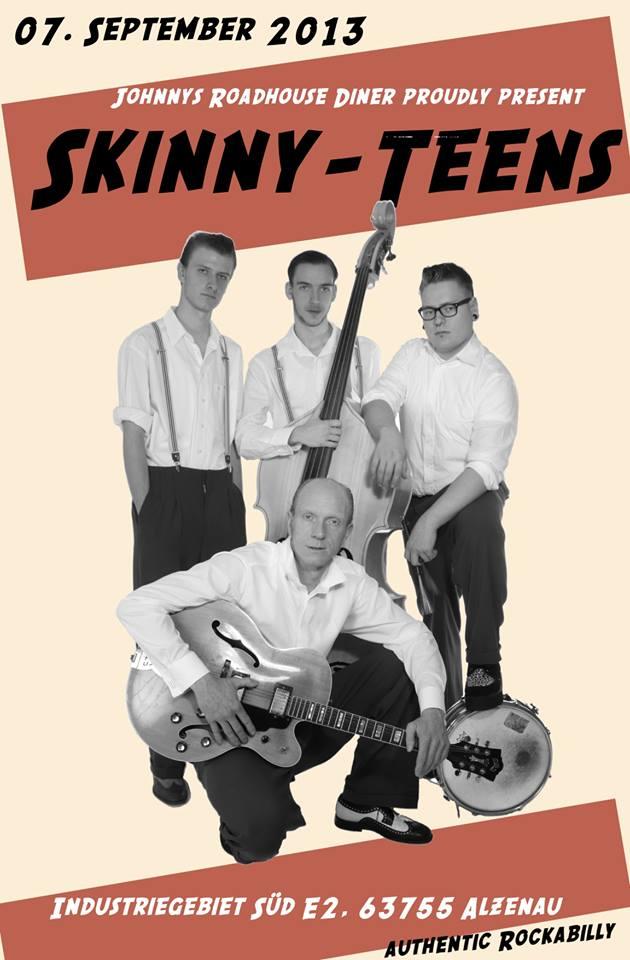 "07.09.2013 Skinny-Teens im ""Johnnys Roadhouse Diner"