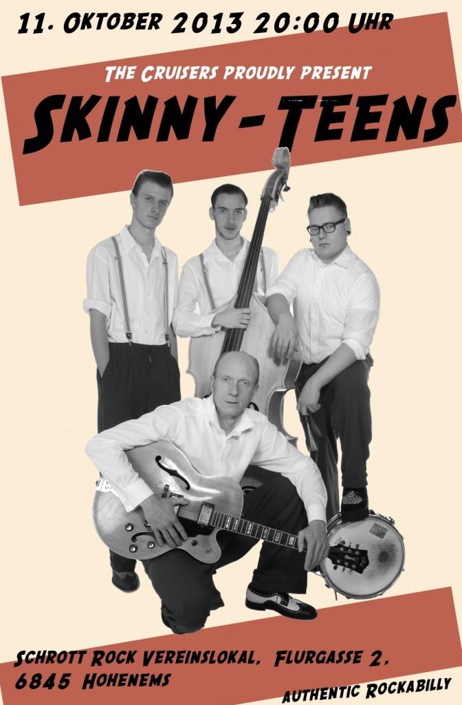 Skinny-Teens 11.10.2013 im Schrott Rock (AT)