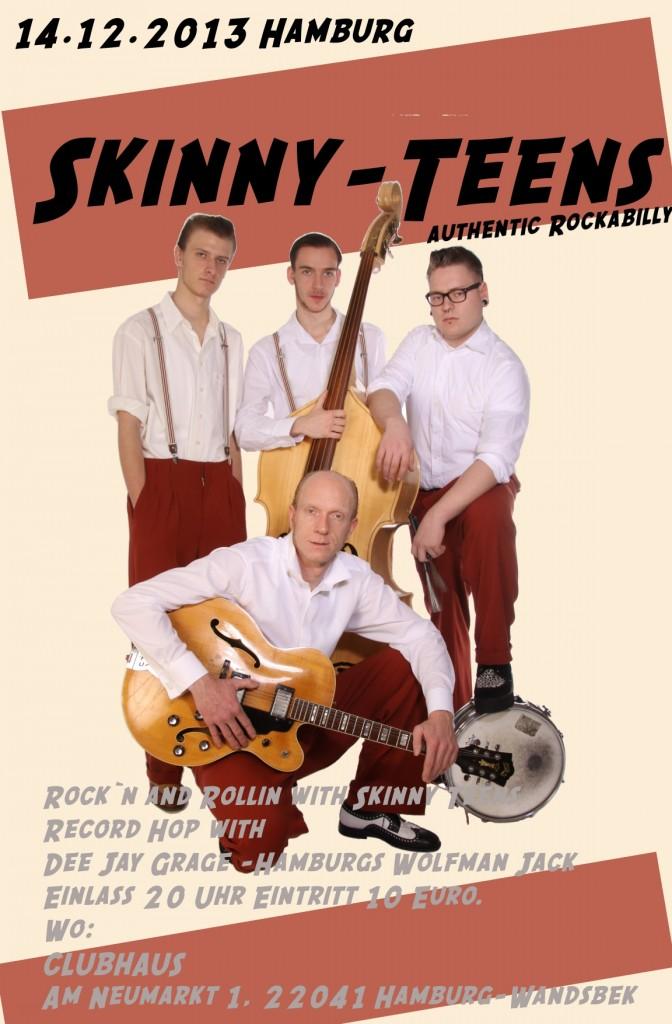 Skinny-Teens rockin' Hamburg