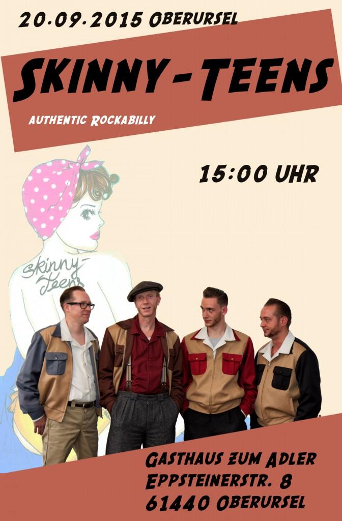 Skinny-Teens in Gasthaus zum Adler (Oberursel)