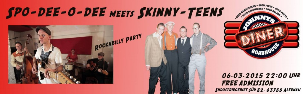 Skinny-Teens in Alzenau Johnnys Roadhouse Diner