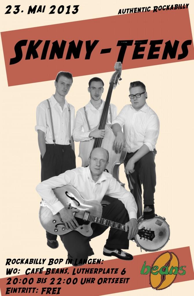 Skinny-Teens Rockabilly Bop