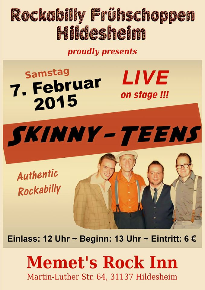 Skinny-Teens Rockabilly Frühschoppen in Hildesheim