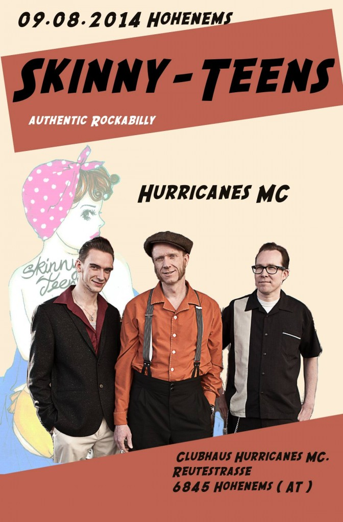 Skinny-Teens Hurricanes MC. 09.08.2014 Hohenems ( AT )