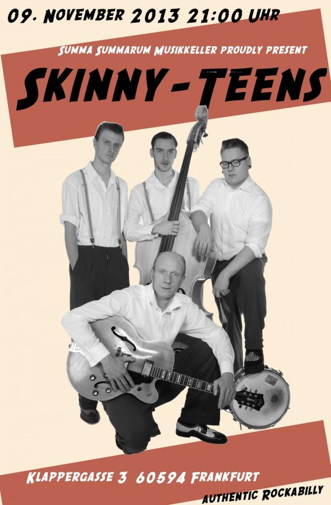 Skinny-Teens im Summa-Sumarum