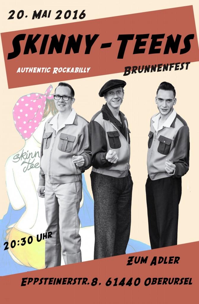 Skinny-Teens Zum Adler 20 Mai