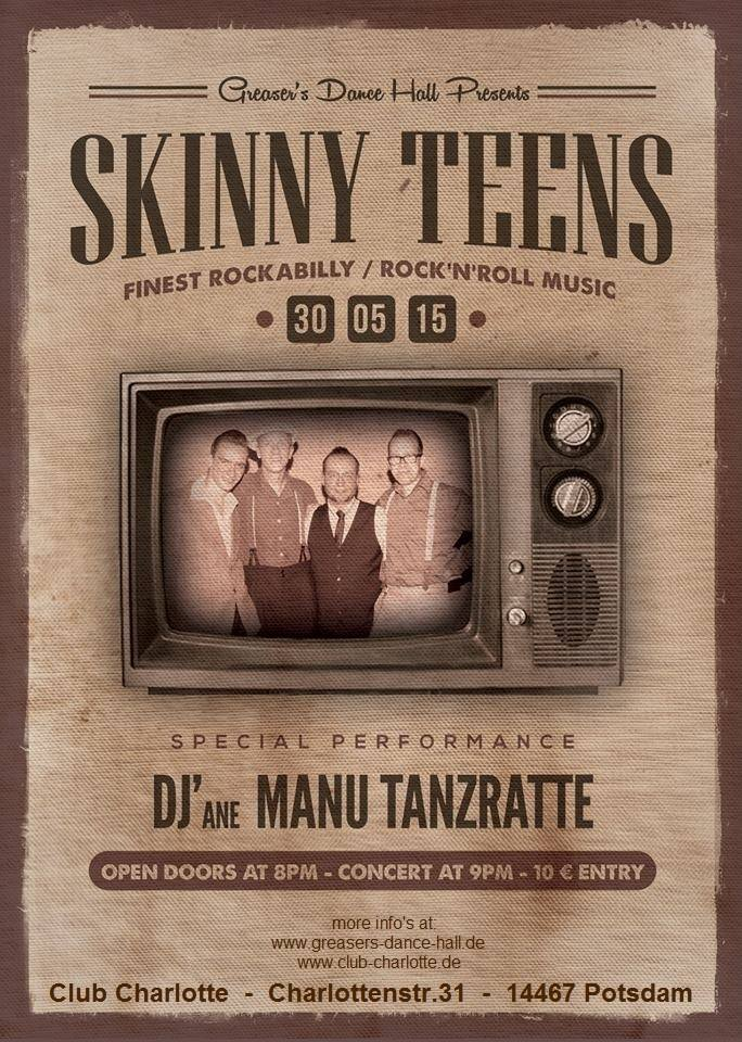 Skinny-Teens Greasers Dance Hall Potsdam 30.05.2015