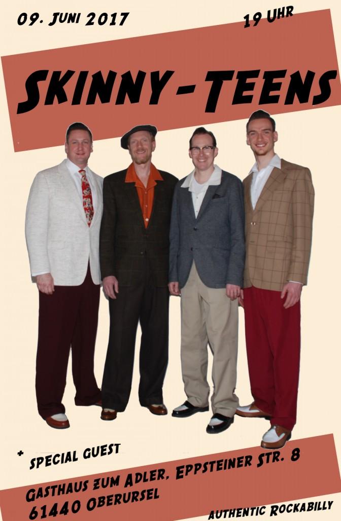 Skinny-Teens in Bad Homburg