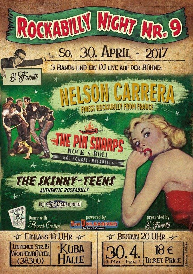 Skinny-Teens in der Kubahalle ( Wolfenbüttel )