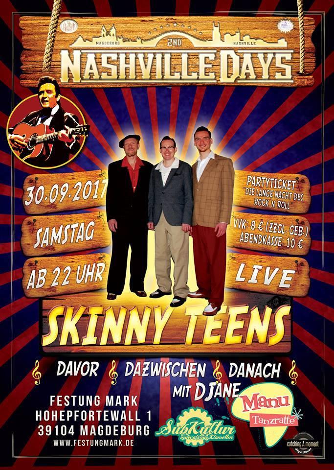 Skinny-Teens in Magdeburg am 30.09.2017