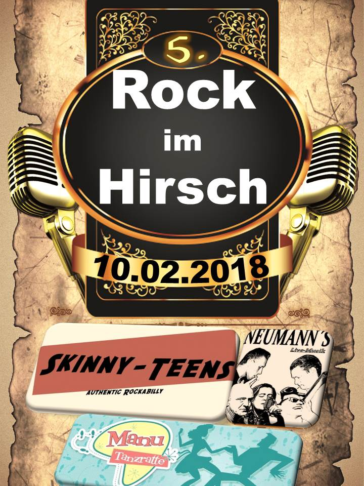 Skinny-Teens Rock im Hirsch 2018